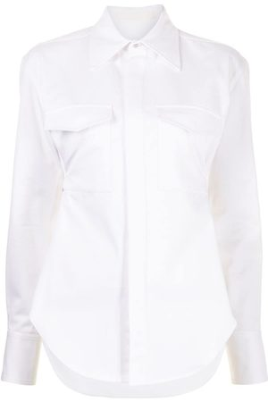 DION LEE Women Long Sleeve - Belted Utility shirt