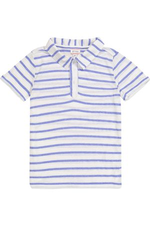 MORLEY Boys Polo Shirts - Nemo striped polo shirt