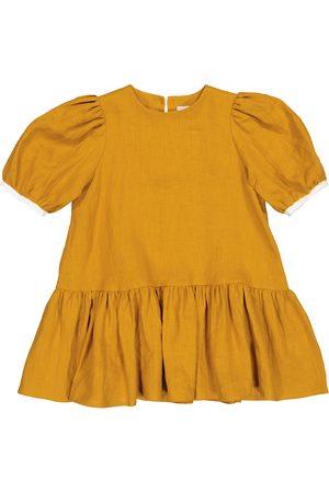 PAADE Girls Dresses - Ode linen dress