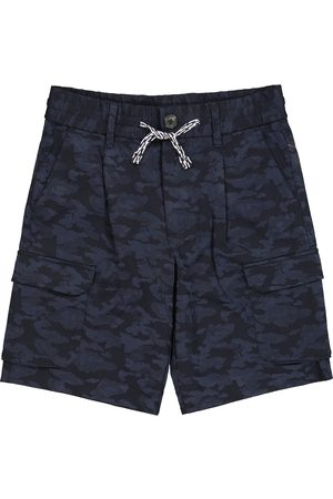 Emporio Armani Camouflage track shorts