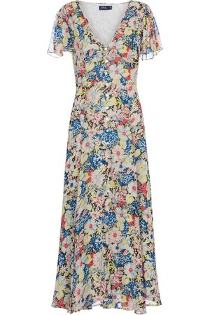 Polo Ralph Lauren Women Printed Dresses - Floral midi dress