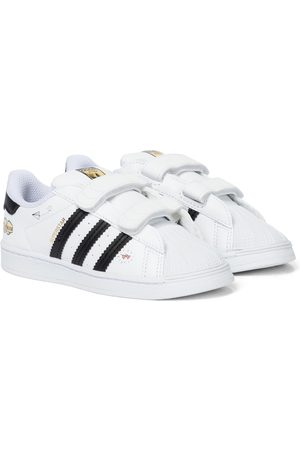 adidas Superstar leather sneakers