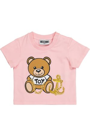 Moschino Baby stretch-cotton T-shirt