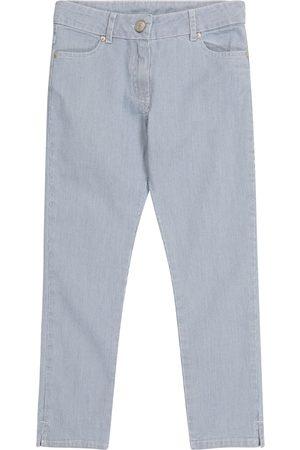Tartine Et Chocolat Girls Jeans - Pinstriped jeans