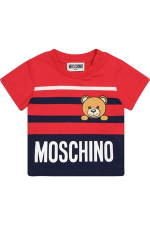 Moschino T-shirts - Baby stretch-cotton T-shirt