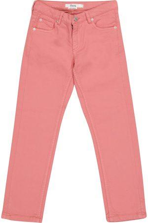 BONPOINT Girls Slim - Dewey slim stretch-cotton jeans