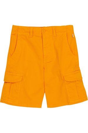 Il gufo Stretch-cotton Bermuda shorts