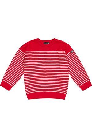 Emporio Armani Boys Jumpers - Striped cotton sweater