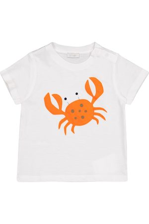 Il gufo Baby appliquéd cotton jersey T-shirt