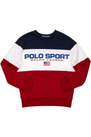 Ralph Lauren Boys Sweatshirts - Logo Print Cotton Sweatshirt