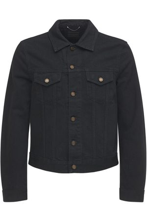 adidas Fitted Cotton Denim Jacket