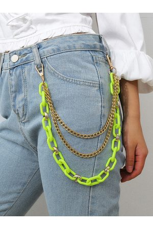 YOINS Acrylic Multi-layer Metal Pants Chain