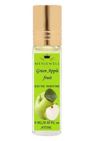 Menjewell Unisex Fragrances Green Apple Fruit Attar 9 ml