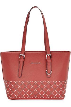 Pierre Cardin Red Embellished Shoulder Bag