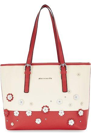 Pierre Cardin Red Floral Solid Shoulder Bag