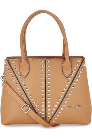 Pierre Cardin Gold-Toned Embellished Handheld Bag