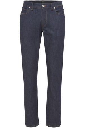 BRIONI Men Jeans - Meribel Logo Patch Cotton Denim Jeans