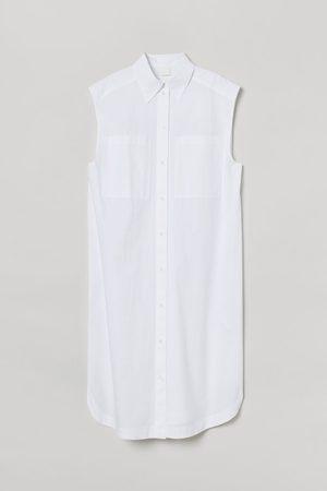 H&M Women Casual Dresses - Sleeveless shirt dress