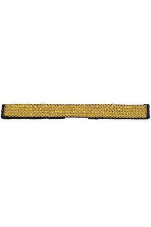 Diwaah Women Yellow & Black Embellished Belt