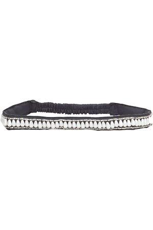 Diwaah Women Black & White Embellished Hairband