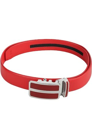 Kastner Men Red Solid Belt