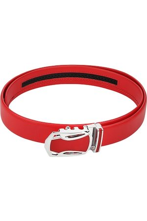 Kastner Men Red Textured Belt
