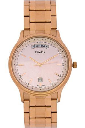 Timex Men Beige Analogue Watch