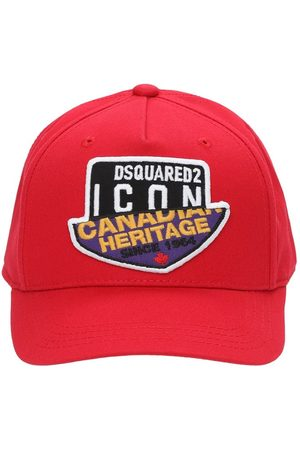 Dsquared2 Girls Hats - Cotton Gabardine Baseball Hat