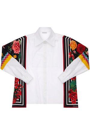 Dolce & Gabbana Girls Shirts - Cotton Poplin Shirt