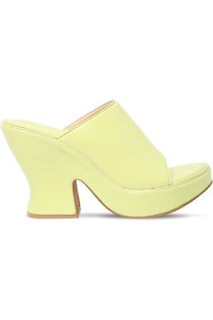 Bottega Veneta Women Flats - 115mm Leather Mules