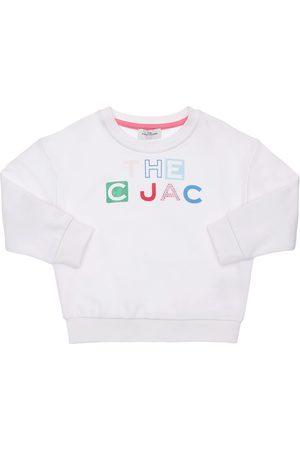 Marc Jacobs Girls Sweatshirts - Logo Print Cotton Sweatshirt