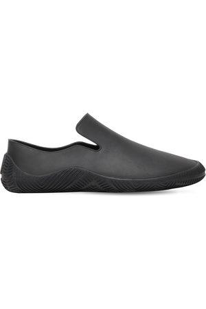 Bottega Veneta Men Sneakers - Matte Rubber Slip-on Sneakers
