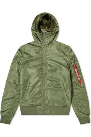 Alpha Industries Hooded MA-1 Jacket Sage