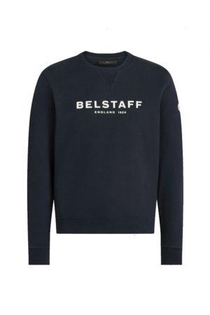 Belstaff 1924 Logo Crew Sweat Dark Navy