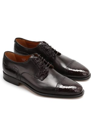 corneliani Leather derby shoes