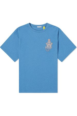 Moncler Genius Men T-shirts - X JW Anderson Faded Badge Logo Tee