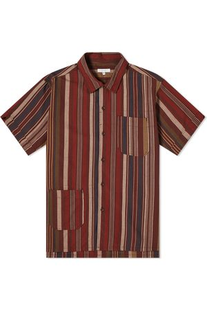 ENGINEERED GARMENTS Men Shirts - Patchwork Stripe Camp Vacation Shirt