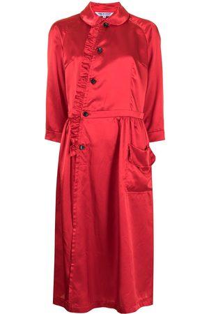 Comme des Garçons Women Midi Dresses - Ruffle-detail midi dress
