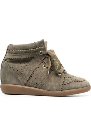 Isabel Marant Women Sneakers - Bobby wedge sneakers