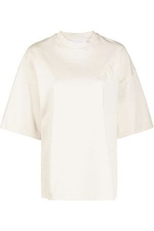 The Attico Round neck short-sleeved T-shirt