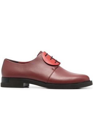 Camper Women Formal Shoes - Two-tone leather oxford shoes