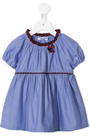 Familiar Girls Shirts - Bow-detail blouse