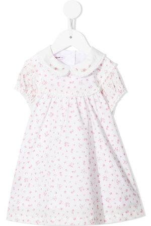 Familiar Baby Printed Dresses - Floral-print cotton dress