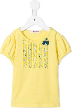 Familiar Girls T-shirts - Bow-detail T-shirt