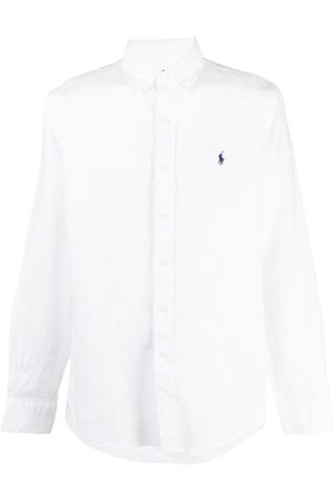 Ralph Lauren Men Polo Shirts - Polo Pony linen shirt
