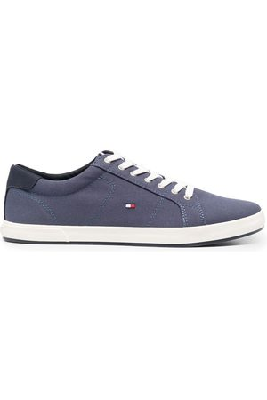 Tommy Hilfiger Men Sneakers - Embroidered-logo detail sneakers