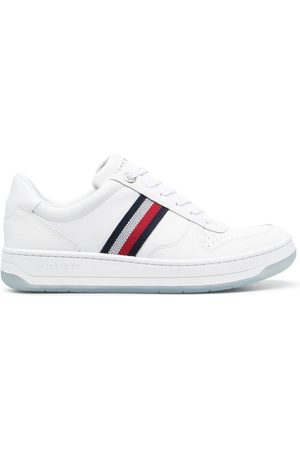 Tommy Hilfiger Signature-stripe detail sneakers