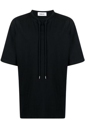 AMBUSH Men Short Sleeve - Drawstring neck T-shirt