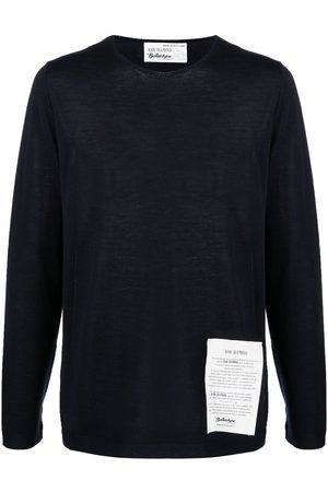 BALLANTYNE Raw Label detail Jumper