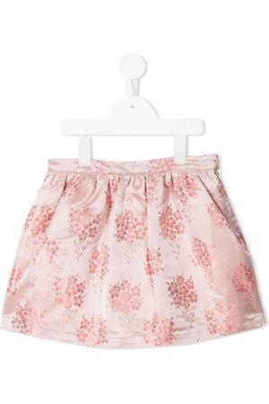 HUCKLEBONES LONDON Girls Printed Skirts - Floral-print skirt